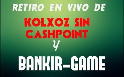 PAGOS EN VIVO DE - KOLXOZ SIN CASHPOINT Y BANKIR GAME - APROVECHA