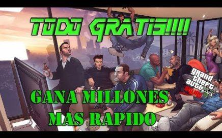 PARCHEADO!!TRUCO COMPRAR TODO GRATIS MAS RAPIDO Y FACIL GTA V ONLINE 1.42