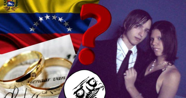 ¿Por que los Venezolanos se Casan tan jóvenes?