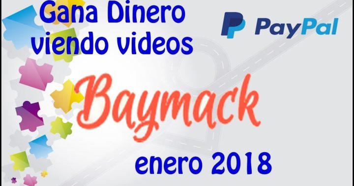 Que es Baymack? y como se gana dinero en esta web enero 2018