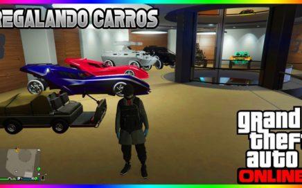 Regalando carros a suscriptores en gta v online :)
