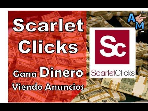Scarlet Clicks | Dinero a Paypal Gratis + Truco Para Conseguir Mas Referidos | Ahora es el Momento