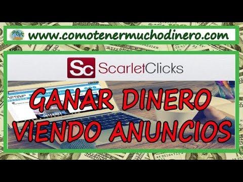 Scarlet-Clicks: Ganar Dinero Viendo Anuncios para Paypal y Payza | Como tener mucho dinero
