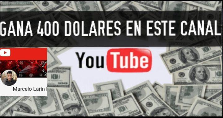 SE OBSEQUIAN 400 DÓLARES PARA SUSCRIPTORES  DE YOUTUBE DE ESTA FORMA LOS GANARAS!