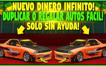 SIN AYUDA! - DUPLICAR O RECIBIR AUTOS GRATIS *SOLO* - GTA 5 1.42 TRUCO DINERO INFINITO (PS4 y XBOX)