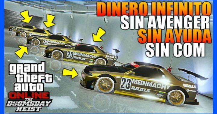 *SIN AYUDA* NUEVO TRUCO DINERO INFINITO EN 3 PASOS!! 1.42 [$1,000,000 CADA 4 MINUTOS] | GTA 5 ONLINE