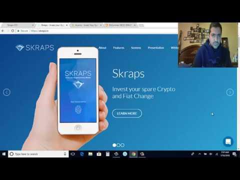 SKRAPS ICO Una app al estilo Acorns
