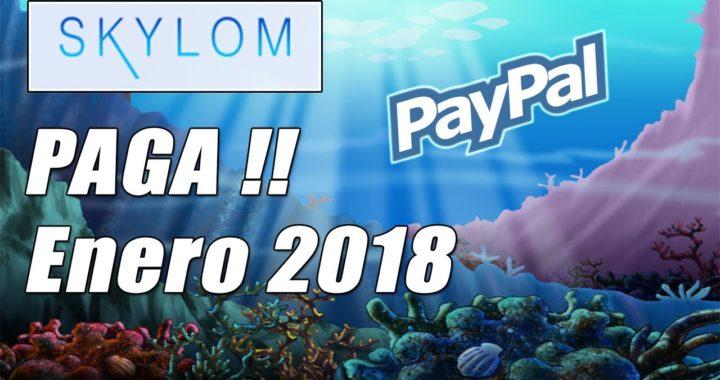 Skylom Paga Enero 2018 | Participa en Sorteos Gratuitos y Gana Dinero a Paypal | Gokustian