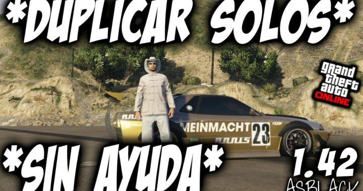 SOLO - SIN AYUDA - DUPLICAR COCHES sin AYUDA - GTA 5 - NUEVO - DINERO FACIL - (PS4 - XBOX One)