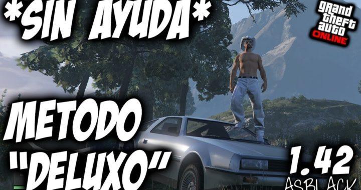 """*SOLO* - SIN AYUDA - EL MEJOR METODO y MAS RAPIDO - GTA 5 - CON """"DELUXO"""" 2 MANERAS - (PS4 - XB1)"""