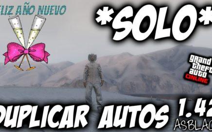 SOLOS SIN AYUDA - DUPLICAR CUALQUIER COCHE - GTA 5 - FUNCIONA - FELIZ 2018 - (PS4 - XBOX One)