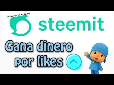 Steemit gana dinero por recibir o dar like (votos) GRATIS