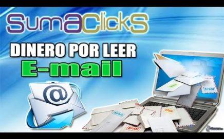 SumaClicks Explicación Completa | Gana Dinero Gratis Leyendo E-mails