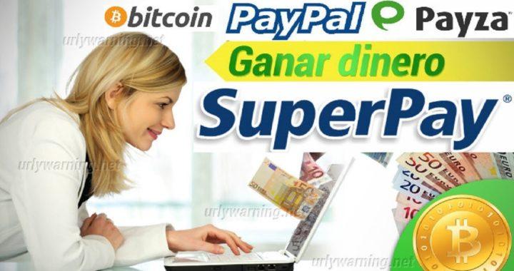 SUPERPAY GANA 1$ USD y 50$ USD A PAYPAL GRATIS 2018