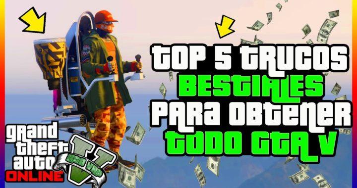 """TENDRAS TODO GTA 5 GRATIS!! CON ESTE TOP 5 TRUCOS BESTIALES DE """"GTA V ONLINE"""""""
