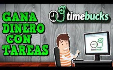 TimeBucks, Gana Dinero con Tareas Sencillas | Como Ganar Dinero Fácil por Internet Sin Trabajar 2018