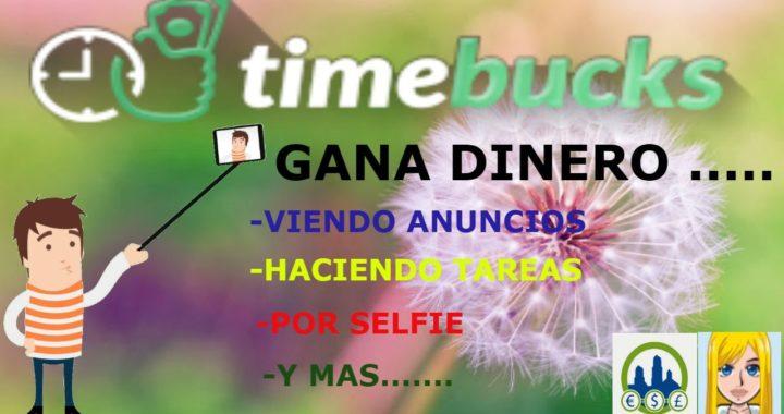 TIMEBUCKS ....Gana Dinero Haciendo Diferentes Tareas ( Pago Por PayPal )