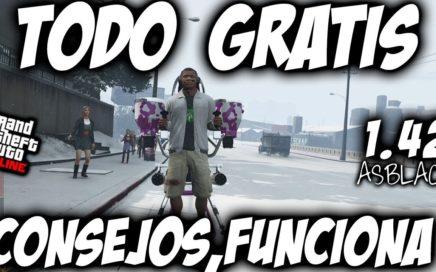 TODO GRATIS en GTA 5 - COMPRAR GRATIS y CONSEJOS PARA TENER TODO GUARDADO - GTAV 1.42 - 2018