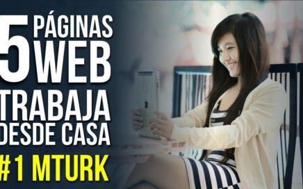 Top 5 Sitios de Internet Para Que Trabajes Desde Casa: #1 Amazon Mechanical Turk