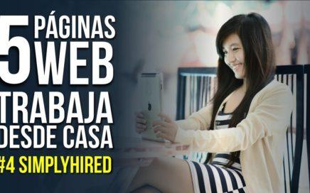 Top 5 Sitios de Internet Para Que Trabajes Desde Casa #4 Simplyhired