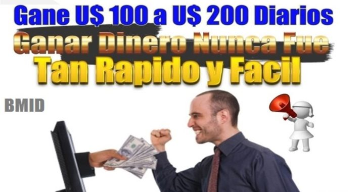 Trabajos desde Casa   Gana 100, 200, 500 Dolares Diarios con BMID
