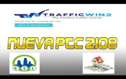 Trafficwind Nueva PTC 2018 Gana Dinero Gratis Viendo Anuncios