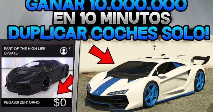 TRUCAZO DINERO INFINITO 10.000.000$ EN 10MIN! [DUPLICAR COCHES 1.42]