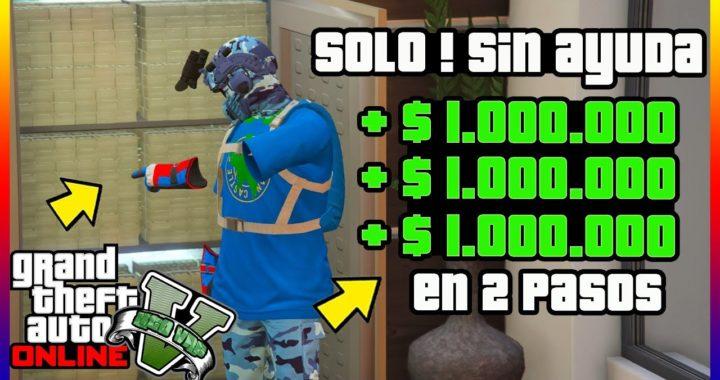 """TRUCAZO DINERO INFINITO!! [ SOLO SIN AYUDA ] EN SOLO 2 PASOS! """"GTA V ONLINE"""" [ PS4 - XBOX ONE ]"""