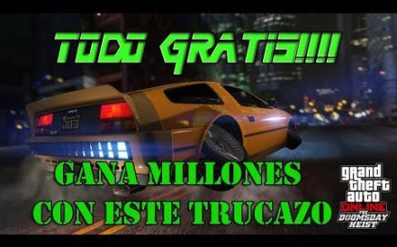 TRUCAZO TODO GRATIS DINERO INFINITO GTA V ONLINE 1.42