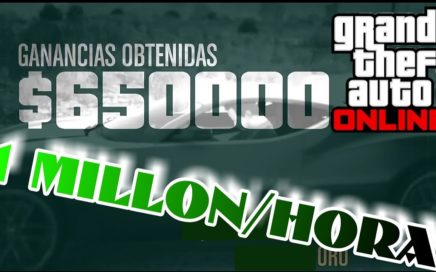 TRUCO: Dinero infinito 1 millon/hora super facil!!! Gta 5 Online (ps4/xbox one/pc)
