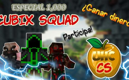 UHC Cubix Squad Evento Abierto // Gana DINERO jugando :D