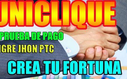 ULTIMO PAGO DE UNICLIQUE  PTC 2018 Y NOTICIAS IMPORTANTES / Hermana de Cliquesteria y Cliquebook