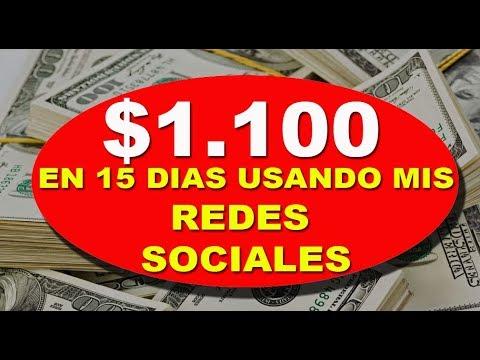 US$1.100 Dolares Ganados Con Mis Redes Sociales y HaciaArriba en 15 Dias