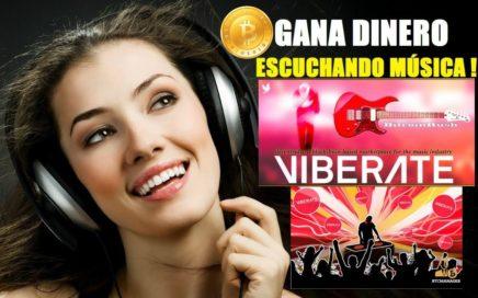 VIBERATE TOKEN - NUEVA ICO $0,50 VIBECOIN GANA DINERO ESCUCHANDO MUSICA!!