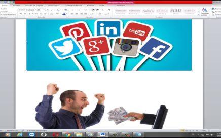 Video como diseñar imágenes en word para captación de prospectos/clientes - HaciaArriba