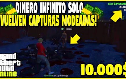 VUELVEN LAS CAPTURAS! DINERO INFINITO PARA RICOS Y POBRES BRUTAL! GTA 5 1.42 MONEY LOBBY /LispyLeaf