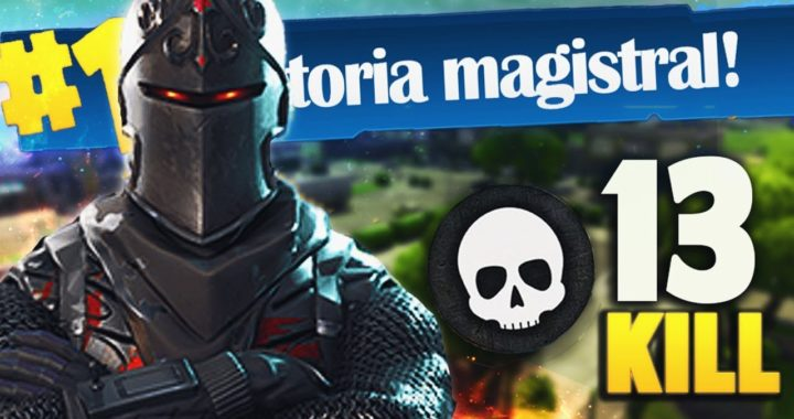 13 KILL ÉPICA VICTORIA sin BALLESTA | FORTNITE: Battle Royale
