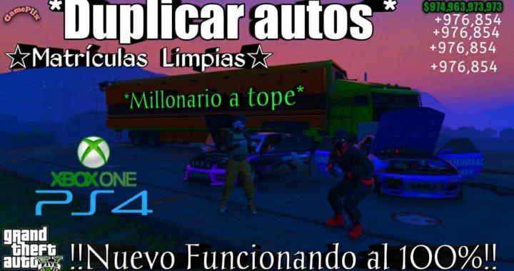 * Duplicar Autos* Facil y Rapido Dinero Infinito 100% Funcionando Gta5 Online xbox One PS4