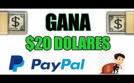 $20 USD A LA SEMANA | COMO GANAR DINERO POR INTERNET / 2018