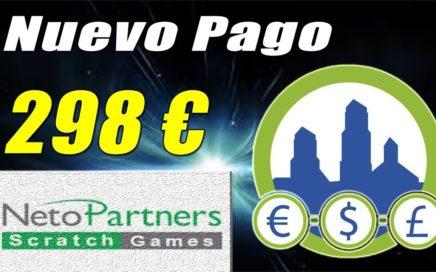 298€ Paypal en Derrota la Crisis, Juegos para Monetizar tu Blog | Pago de NetoPartners | Gokustian