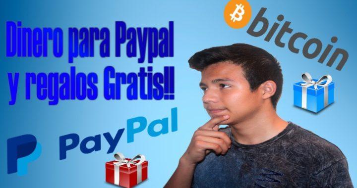 3 paginas web para conseguir dinero en Paypal y Premios Gratis!! [2018]