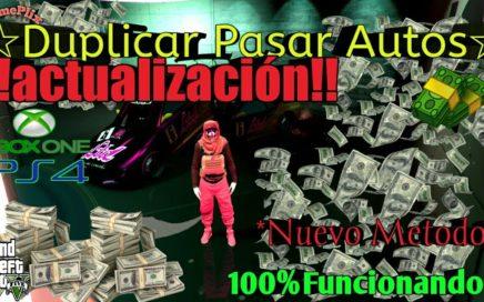 Actualizado * Duplicar Y Pasar Autos* Dinero Infinito 100% Funcionando Gta5 Online xbox One PS4