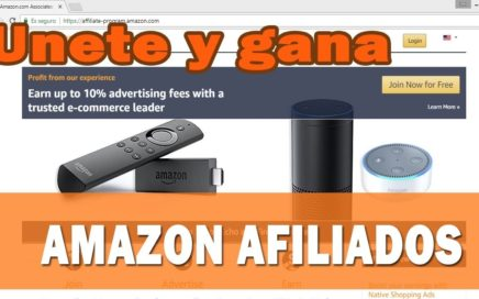 AMAZON ASSOCIATES  : GANA DINERO GRATIS