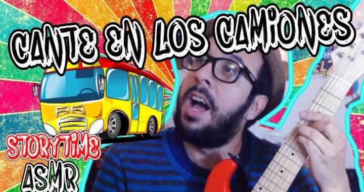ASMR EN ESPAÑOL |STORYTIME | CANTÉ EN LOS CAMIONES| Pepe Pecas
