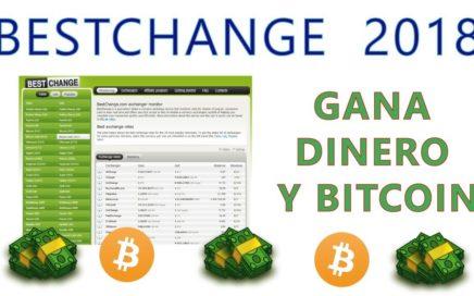 BESTCHANGE 2018:  TUTORIAL Gana dinero y bitcoin ....fácil y rápido.
