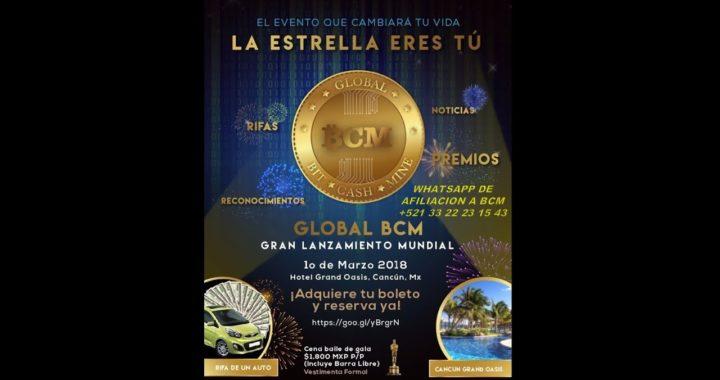 Bit Cash Mine LANZAMIENTO MUNDIAL BCM
