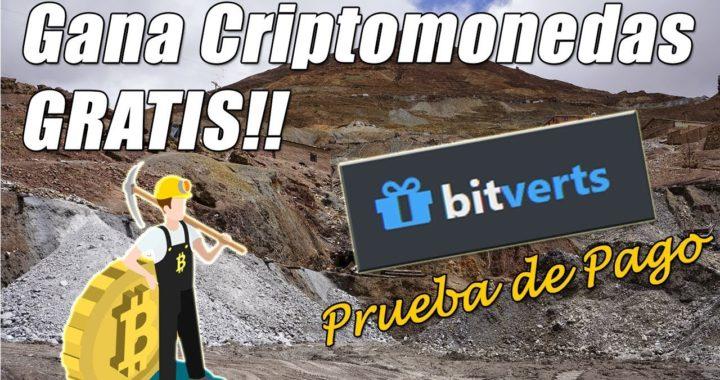 Bitverts Prueba de Pago Uphold | Gana Criptomonedas 100% Gratis | Gokustian