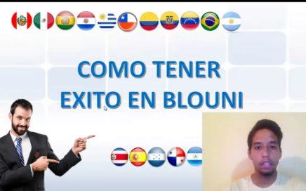 BLOUNI EN ESPAÑOL  - LOS 4 ASPECTOS PARA TRIUNFAR EN EL INTERNET