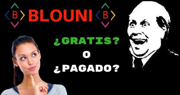 BLOUNI ES GRATIS O PAGADO 49 DOLARES EN 3 DIAS!!!