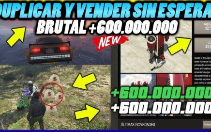 BRUTAL! DUPLICA SIN ESPERAS! EL MEJOR METODO PARA GANAR +600.000.000 l GTA5 ONLINE 1.42 (XBOX1-PS4)